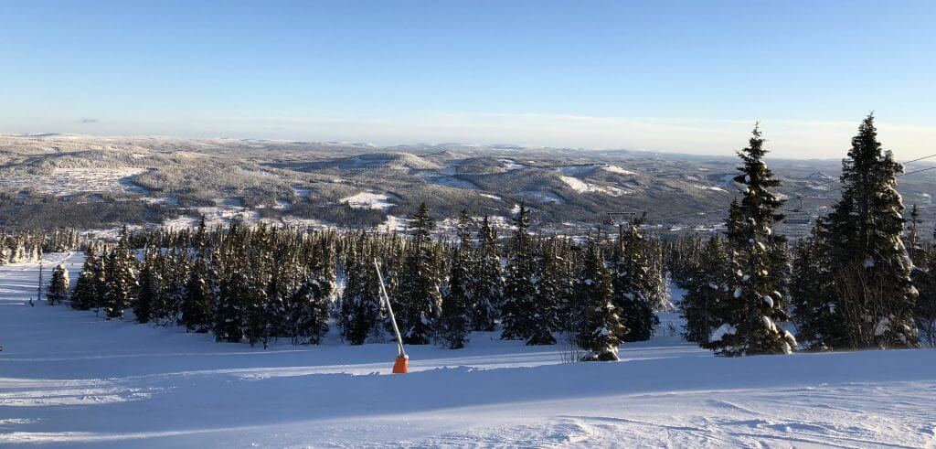 Trysil skidort solsken